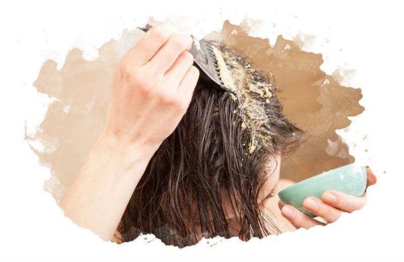 нанесения скраба на кожу головы