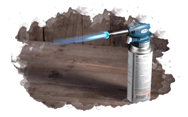 как пользоваться газовой горелкой