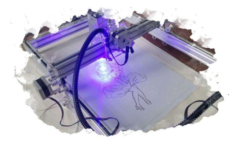 использование лазерного гравера