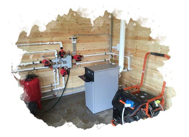 генератор в доме