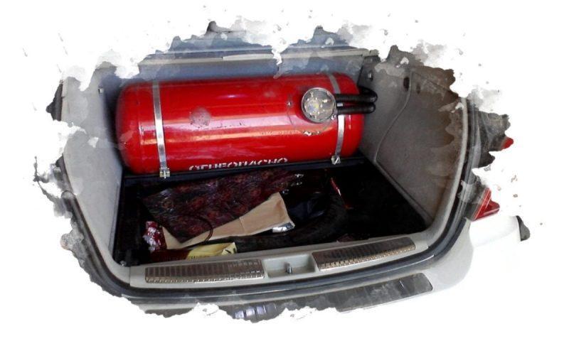 газовое оборудование в авто