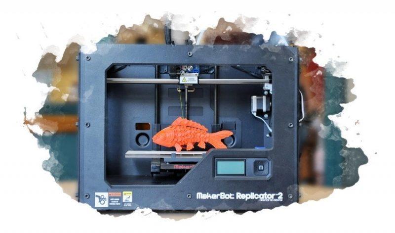использование 3д принтера