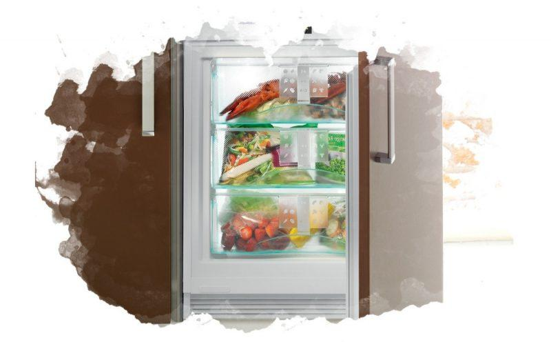 встраиваемый морозильный шкаф