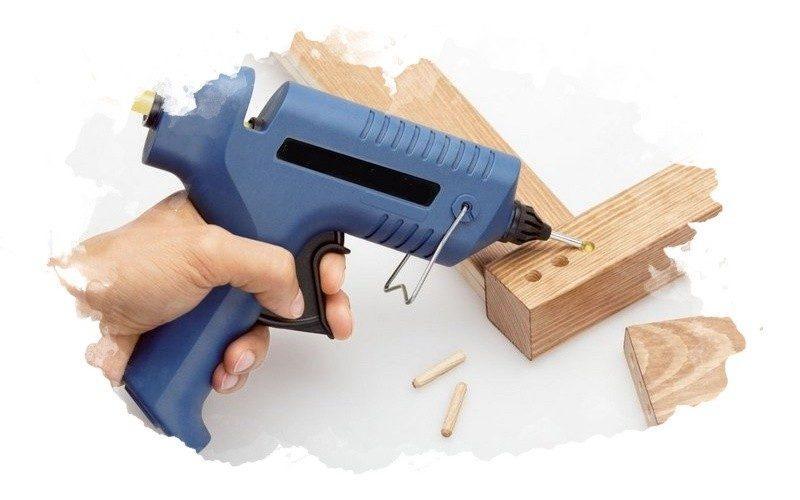 пистолет для склеивания предметов