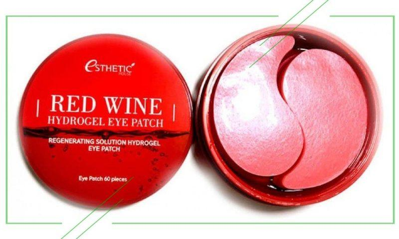 Esthetic House Red Wine Hydrogel Eye Patch_result