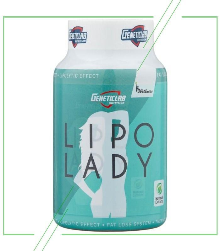 Geneticlab Nutrition L-карнитин Lipo Lady_result