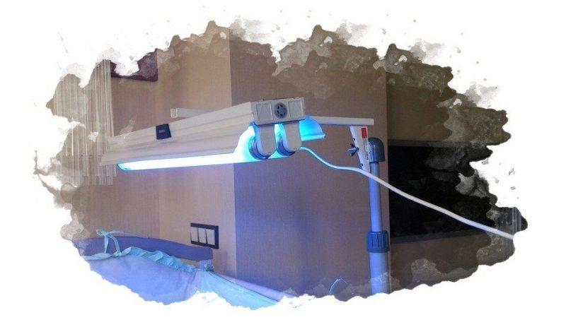 Кварц солнышко для обработки квартиры от туберкулеза