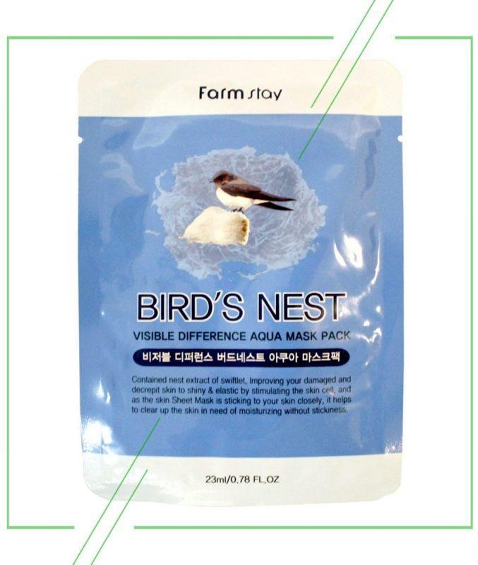 Farmstay маска с экстрактом ласточкиного гнезда_result