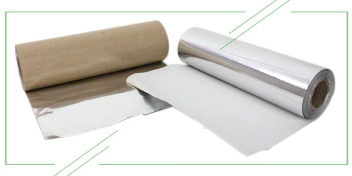 фольгированная бумага для продуктов питания