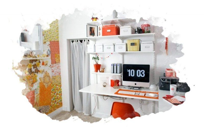 чисто убранная комната