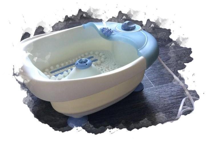 ванночка для массажа ног в доме