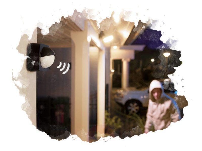Установка датчика света в доме