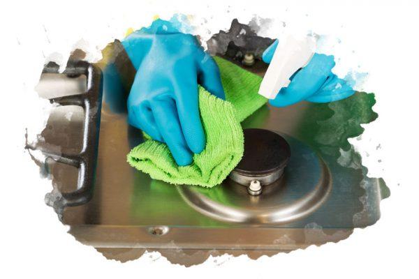 ТОП-7 лучших средств для чистки плиты и духовок: плюсы и минусы, народные методы, отзывы