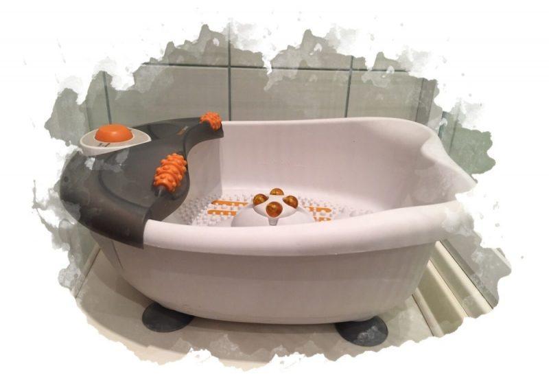 ванночка для ухода за ногами