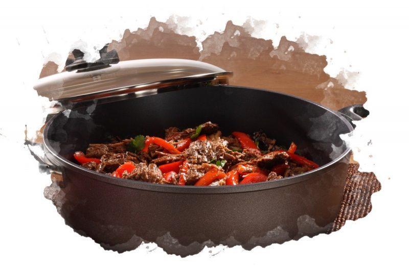 приготовление еды в утятнице