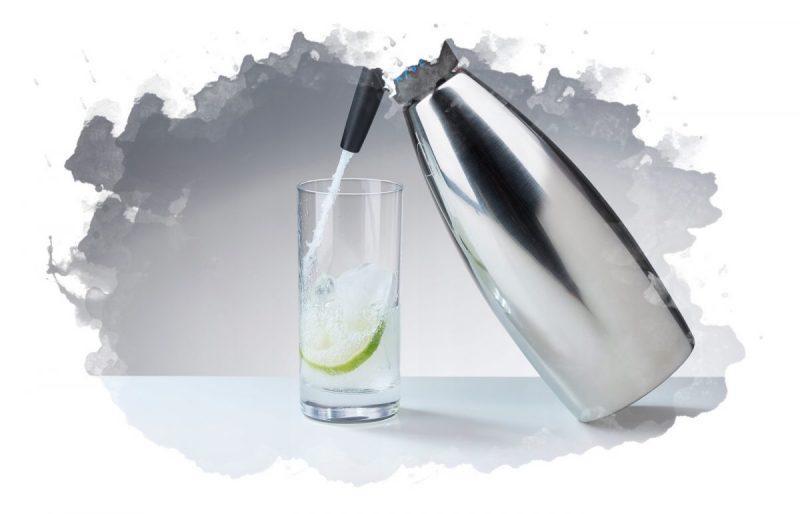 использование сифона для газирования воды