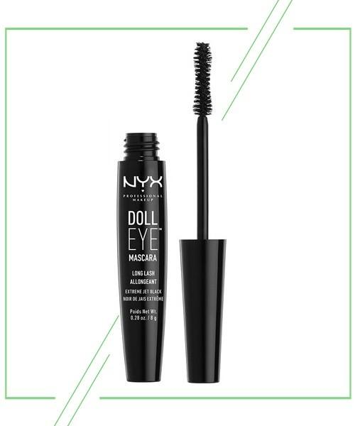NYX Doll Eye Mascara Waterproof_result