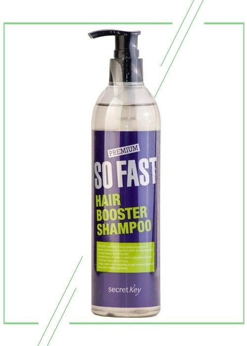 Secret Key Premium So Fast Hair Booster_result