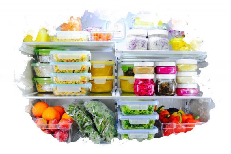 как складывать продукты в холодильник