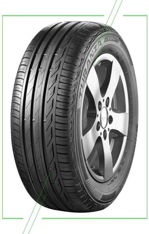 Bridgestone Turanza T001 205 55 R16 94W летняя_result