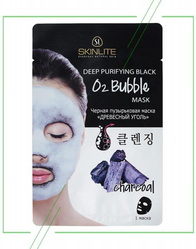 Bubble Mask Пузырьковая маска Charcoal_result
