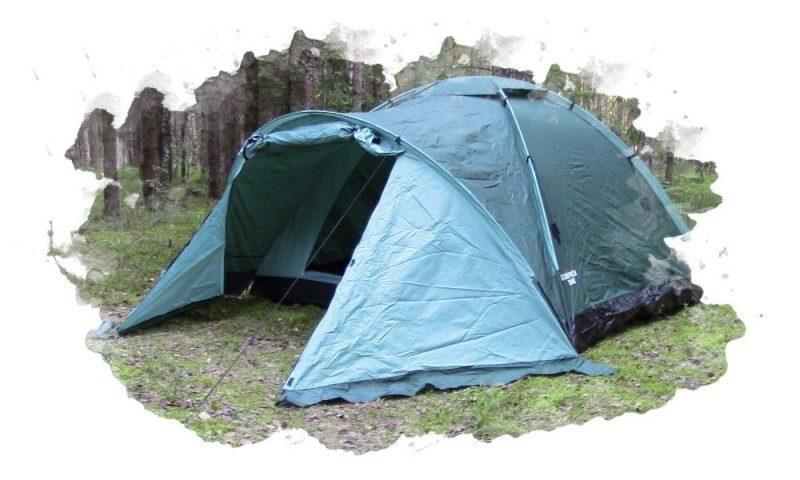 как раскладывать палатку