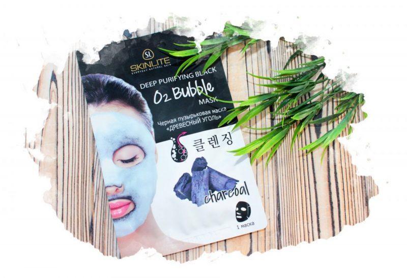 маска пузырьковая для лица