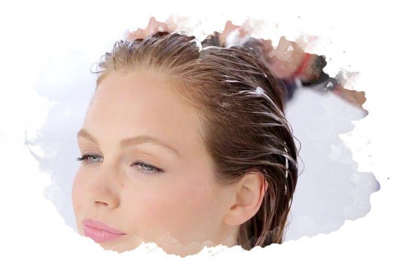 укладка волос с помощью мусса