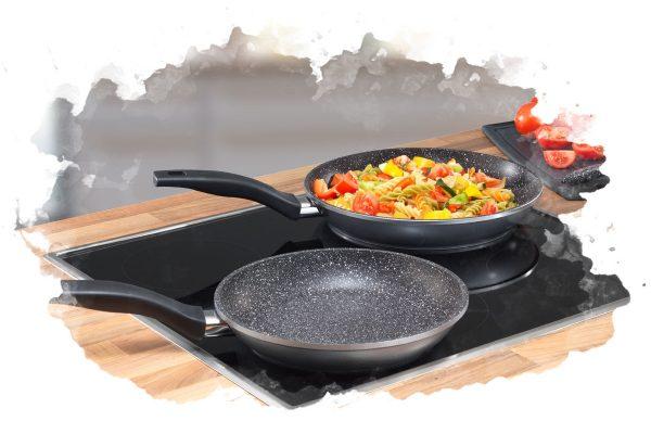 ТОП-7 лучших гранитных сковородок: какую купить, плюсы и минусы, отзывы и цена