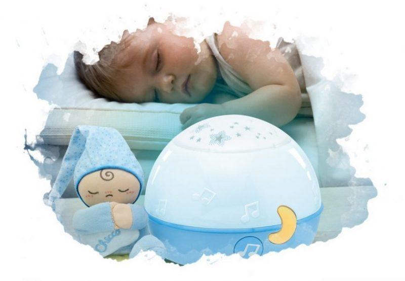 ребенок спит с ночником