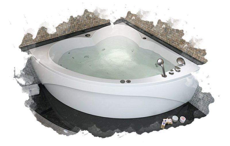 ТОП-7 лучших акриловых ванн: рейтинг, отзывы