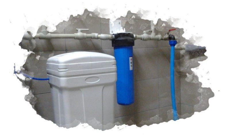 как правильно устанавливают умягчитель для воды