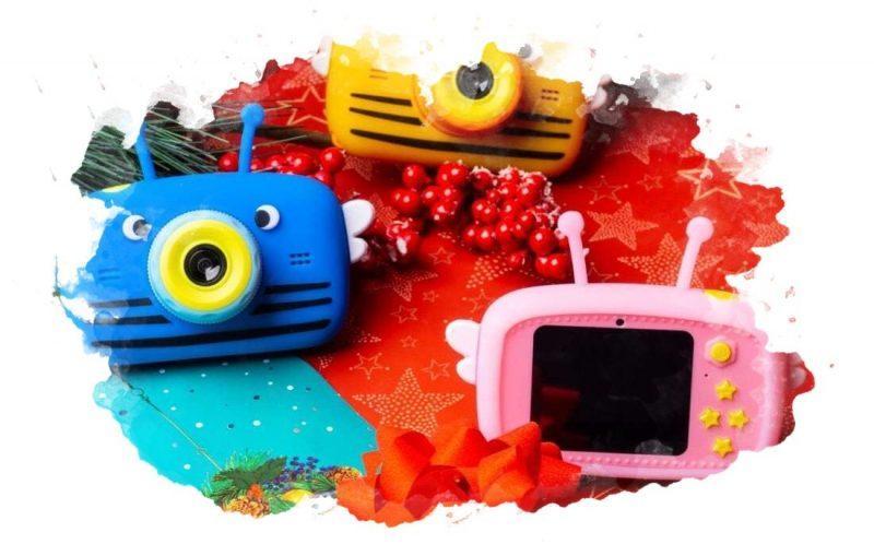 детский фотоаппарат для игры