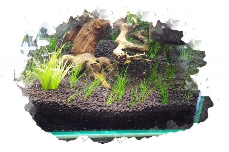 как укладывать грунт в аквариум