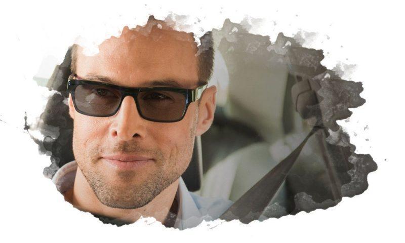 темные очки для водителя