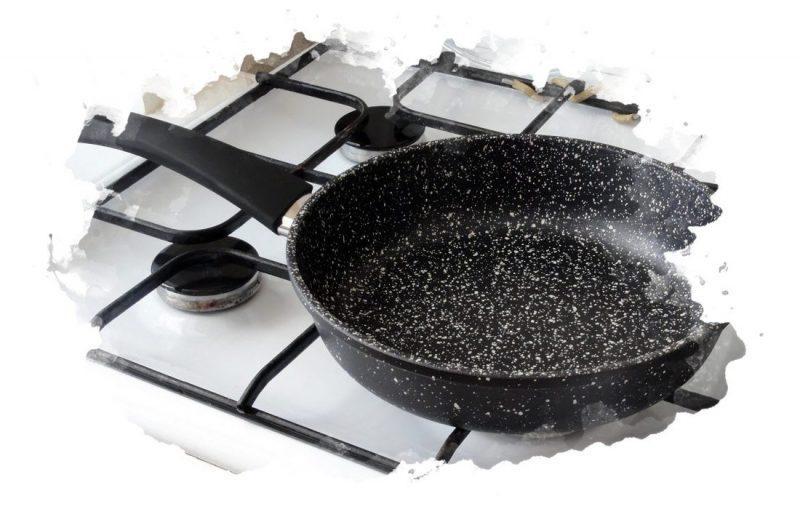 гранитная сковорода