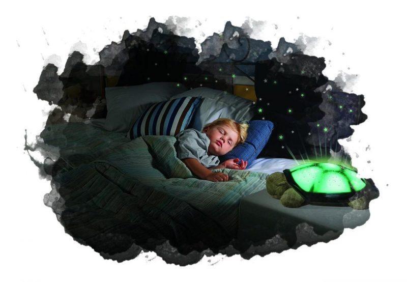 как светит детский ночник