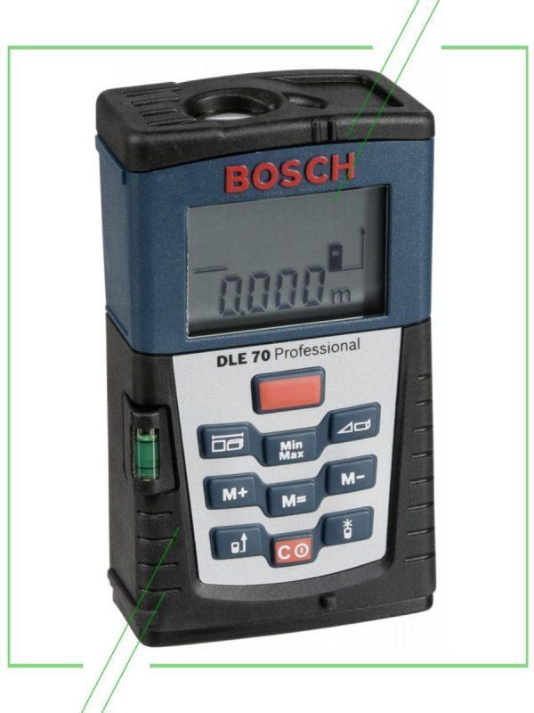 Bosch DLE 70_result