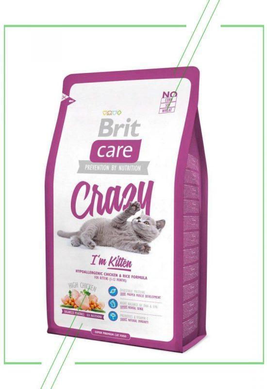 Brit Care Crazy I'm Kitten (2 кг)_result