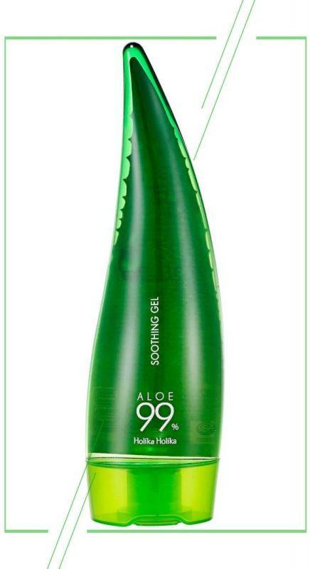 Holika Holika Aloe 99% Soothing Gel_result