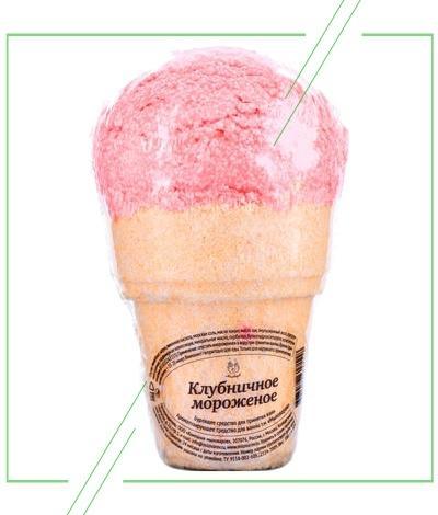 Клубничное мороженое от Мыловаров_result