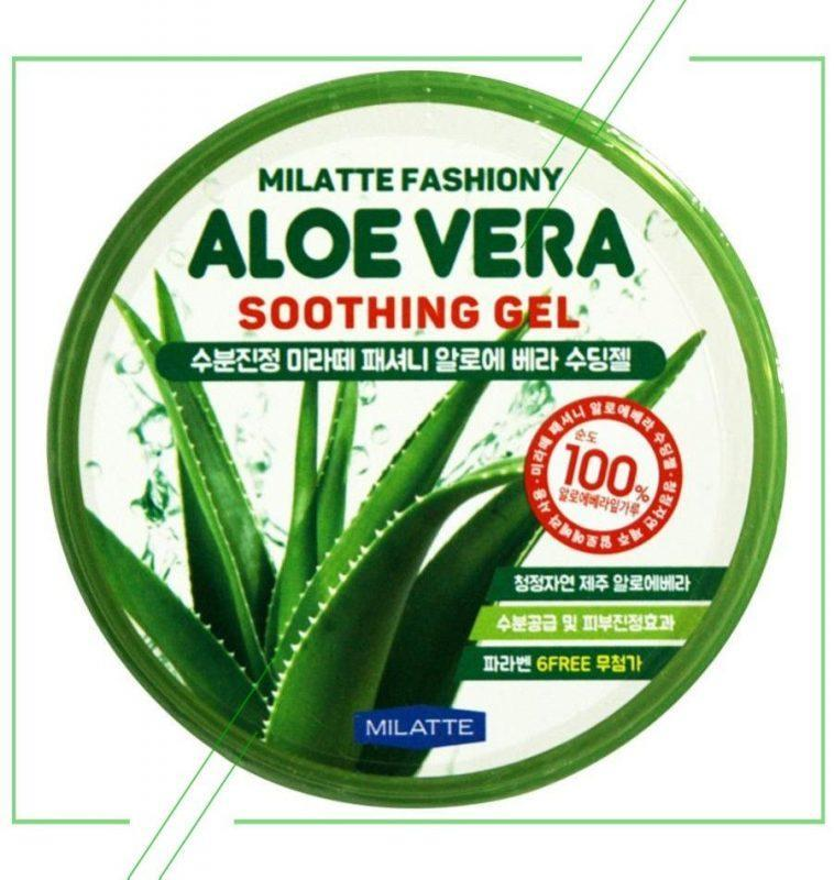 Milatte Fashiony Aloe Vera Soothing Gel_result