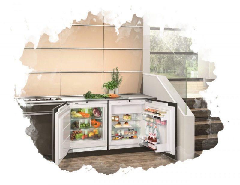однокамерный встраиваемый холодильник