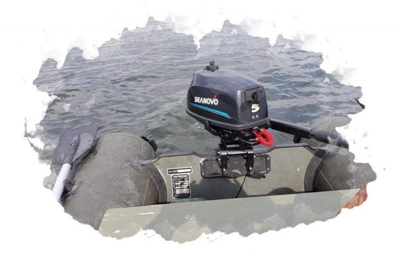 использование лодочного мотора