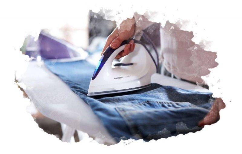 гладить утюгом дома