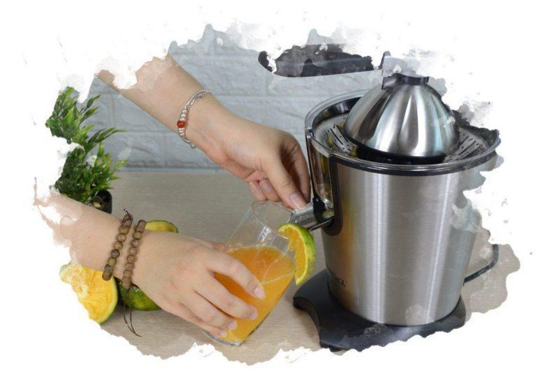 как выжимать сок