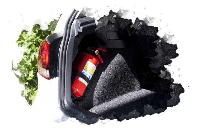 ТОП-7 лучших автомобильных огнетушителей