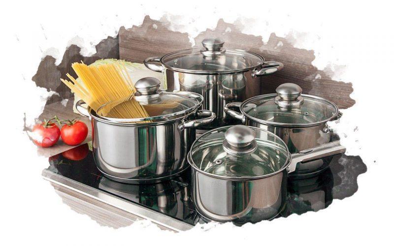 набор кастрюль на кухне_result