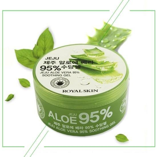 Royal Skin JEJU Aloe Vera 95% Soothing Gel_result