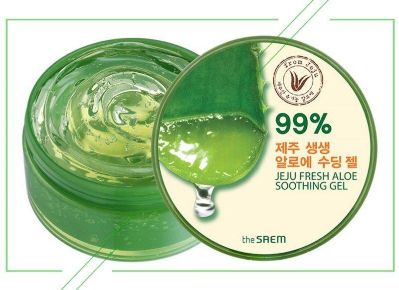 The Saem Jeju Fresh Aloe Soothing Gel 99%_result